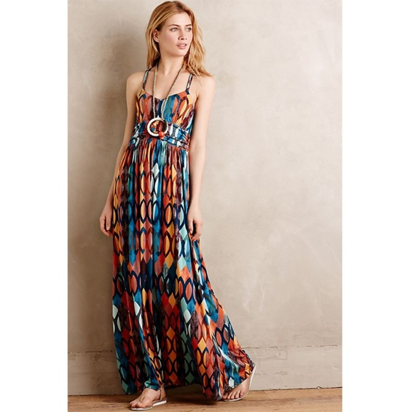 e4e59c9550 Anthropologie Dresses   Skirts - Anthropologie Noetzie Maxi Jersey Dress  Medium